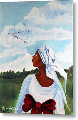 Metal Print featuring the painting Flight Path by Diane Britton Dunham