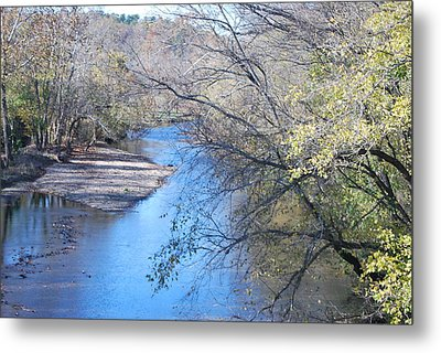 Flint Creek Colcord Oklahoma Metal Print by Michele Carter