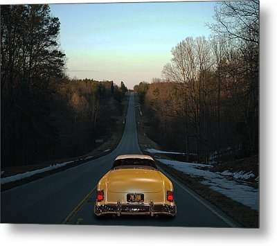 Metal Print featuring the photograph Floor It by Bill Dutting