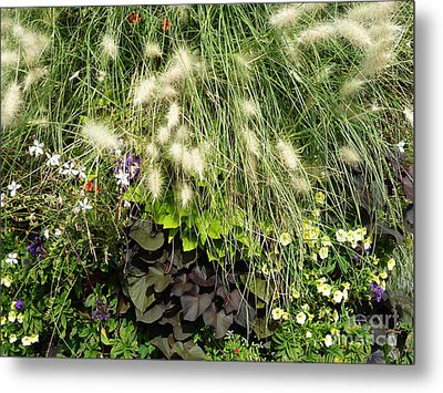 Metal Print featuring the photograph Floral Life 2 by Rogerio Mariani
