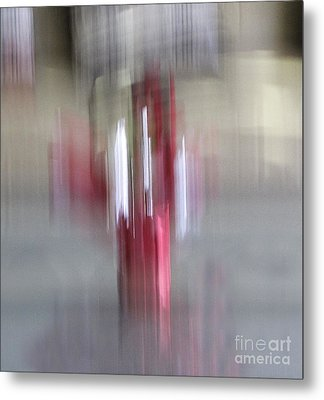 Florals In Motion 1 Metal Print by Cedric Hampton