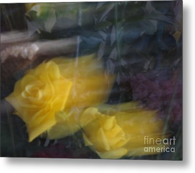 Florals In Motion 7 Metal Print by Cedric Hampton