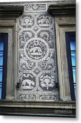 Florence Italy - Architectural Detail - 01 Metal Print by Gregory Dyer
