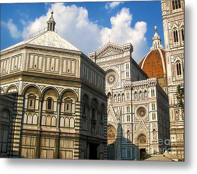 Florence Italy - Santa Maria Del Fiore Metal Print by Gregory Dyer