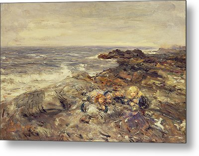 Flotsam And Jetsam Metal Print by William McTaggart