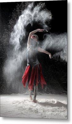 Flour Dancer Series Metal Print