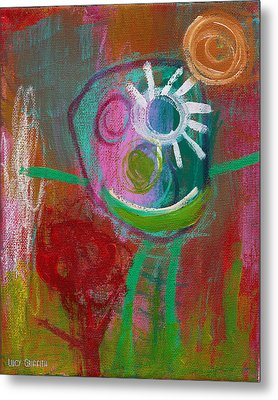 Flower Metal Print by  Abril Andrade Griffith