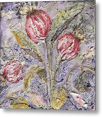 Flower Pods Metal Print