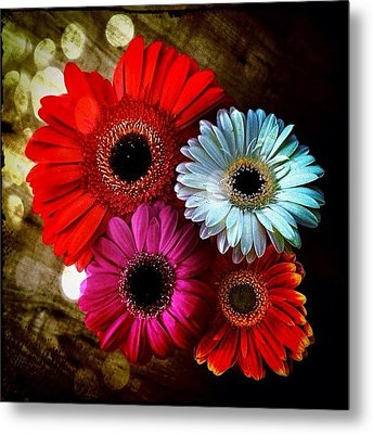 Flowers Part 3 Metal Print by Andre Brands