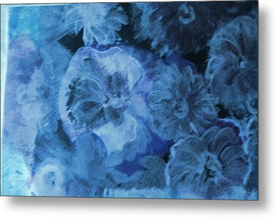 Flowers With Muted Hues Metal Print by Anne-Elizabeth Whiteway