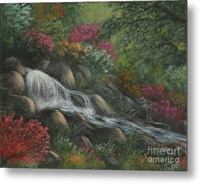 Flowing Waters Metal Print by Kristi Roberts
