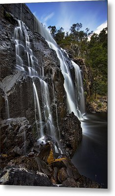 Flows Metal Print by Dave Cox