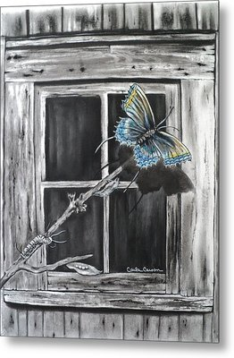 Fly Away Free Metal Print by Carla Carson