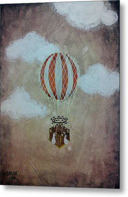 Fly Metal Print by Salwa  Najm