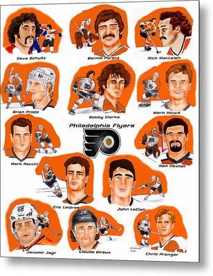 Flyer Greats In Color Metal Print by Chris  DelVecchio