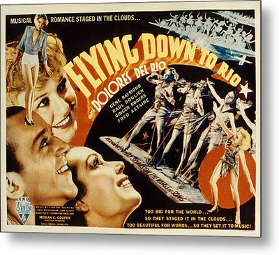 Flying Down To Rio, Fred Astaire Metal Print by Everett