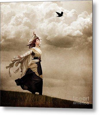 Flying Dreams Metal Print by Cindy Singleton