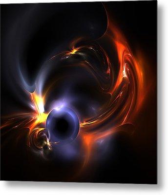 Flying Eye Metal Print by Steve K