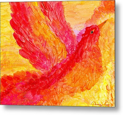 Flying Free Metal Print by Denise Hoag