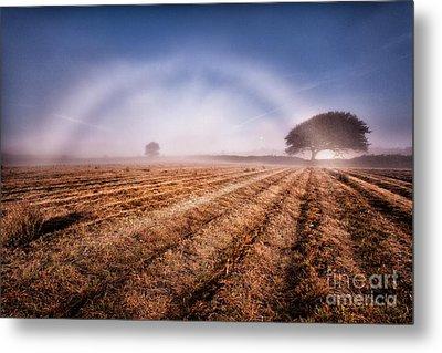 Fog Bow Metal Print by John Farnan