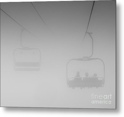 Metal Print featuring the photograph Fog by Eunice Gibb