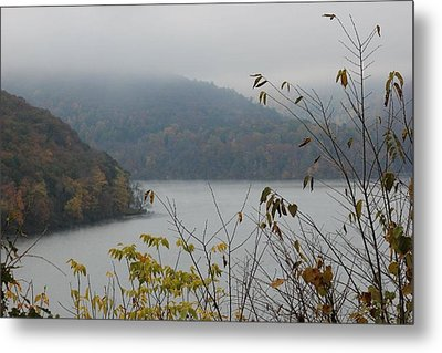 Fog Lifted Metal Print