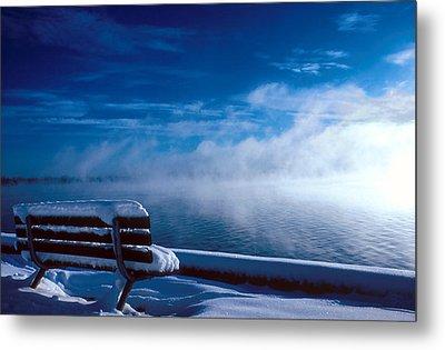 Fog Of Winter Metal Print