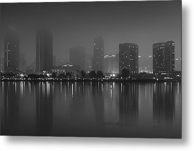 Fog On The Bay Metal Print
