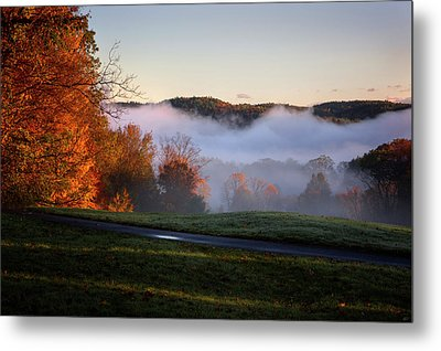 Metal Print featuring the photograph Foggy Dawn by Tom Singleton