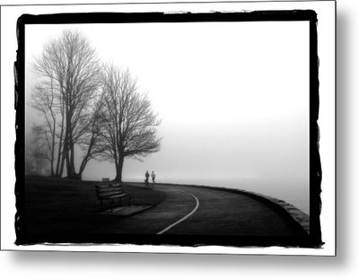 Foggy Day H-2 Metal Print by Mauro Celotti