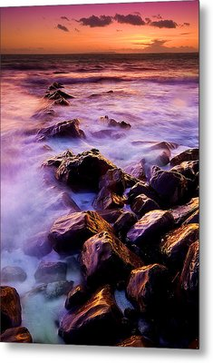 Metal Print featuring the photograph Follow The Breadcrumbs by John Chivers