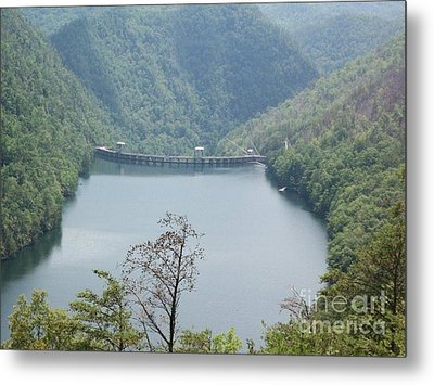 Metal Print featuring the photograph Fontana Dam by Janice Spivey