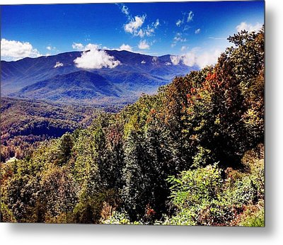 Metal Print featuring the photograph Foothills Parkway Tennessee by Janice Spivey