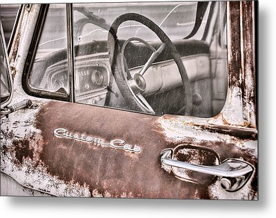 For Sale Ford Custom Cab Metal Print by Ken Smith