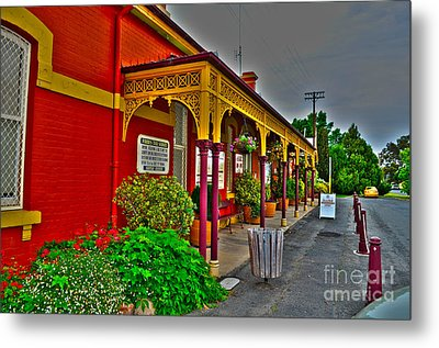 Forbes Visitor Information Centre Metal Print by Joanne Kocwin