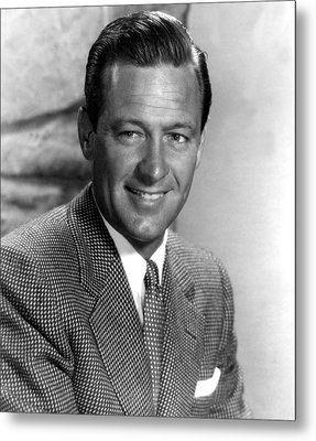 Force Of Arms, William Holden, 1951 Metal Print by Everett