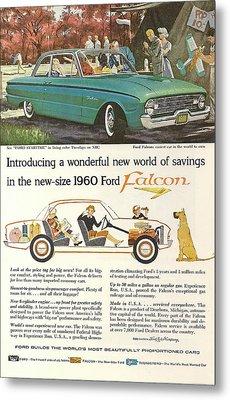 Ford Falcon Metal Print by Georgia Fowler
