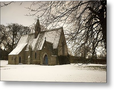 Ford, Northumberland, England Country Metal Print by John Short
