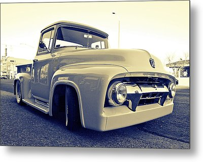 Ford Nostalgia Metal Print by Vorona Photography