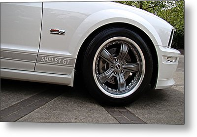 Metal Print featuring the photograph Ford Shelby Gt by Nick Kloepping