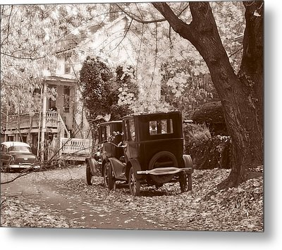 Fords At Harpers Ferry Metal Print by Williams-Cairns Photography LLC