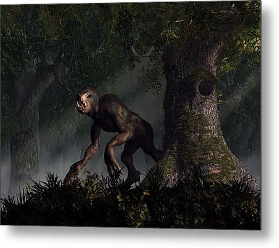 Forest Creeper Metal Print by Daniel Eskridge