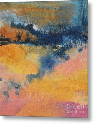 Forest Edge Metal Print by Barbara Tibbets