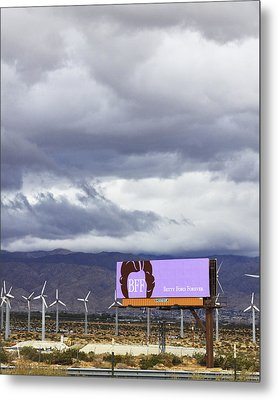 Forever Palm Springs Metal Print
