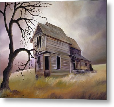 Forgotten But Not Gone Metal Print by James Christopher Hill