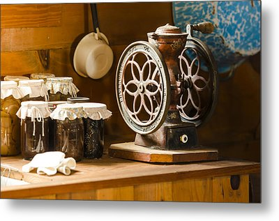 Forgotten Kitchen Of Yesteryear Metal Print by Carolyn Marshall