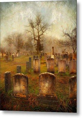 Metal Print featuring the photograph Forgotten Souls  by Karen Lynch