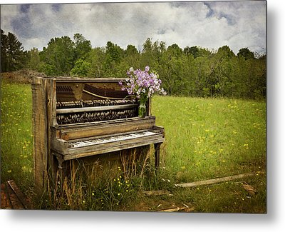 Forgotten Tunes Metal Print by Kathy Jennings