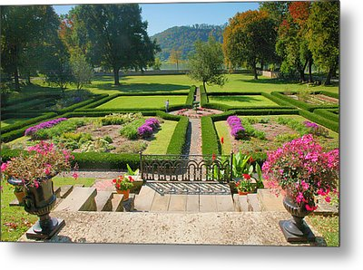 Formal Garden I Metal Print by Steven Ainsworth
