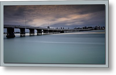 Metal Print featuring the photograph Forster Bridge 01 by Kevin Chippindall